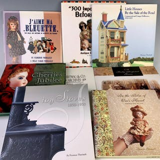 8 Doll Collectibles and Reference Books
