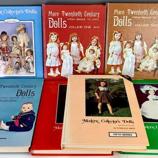 Group of 7 Doll Reference Books