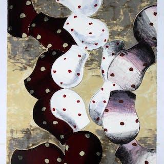"""Unframed Print """"Ithaca"""" By John Walker 15/48 Dated 1993"""