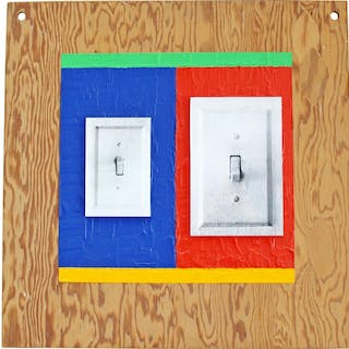 Lucio Pozzi Hanging Wall Art Signed Titled Dated 2001