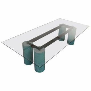 Post Modern Vignelli Serenissimo Cassina Dining Table