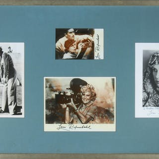 Leni Riefenstahl Signed & Framed Photographs, 4