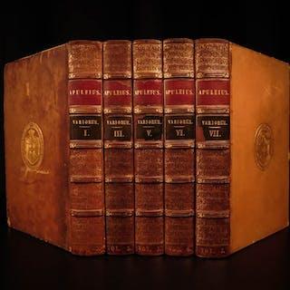 1825 RARE Apuleius Metamorphoses Roman Mythology