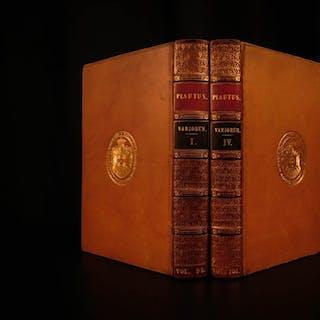 1829 Comedies of Plautus Ancient Roman Literature Drama