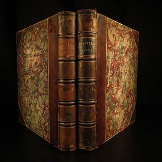 1843 William Hogarth Illustrated 150 Engravings
