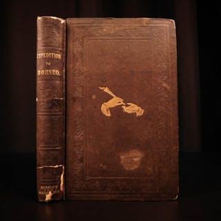 1846 Keppel Expedition to Borneo PIRATES Sarawak White