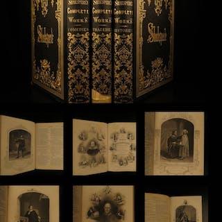 1850 Shakespeare Plays Tragedies Romeo & Juliet Hamlet