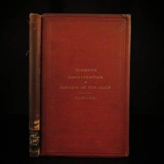 1878 1st ed Charcot Neurology Diseases of BRAIN