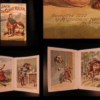 1889 Jack the Giant Killer English Fairy Tale Color