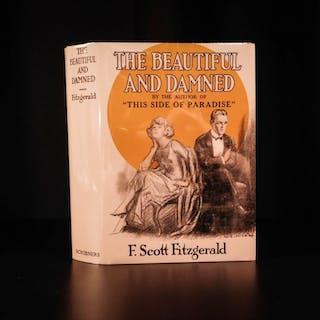 1922 1st/1st The Beautiful & Damned F Scott Fitzgerald