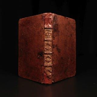 1682 1st ed Duchess of Milan by Jean de Prechac French