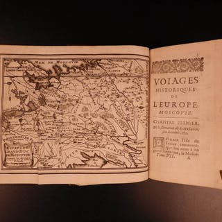 1698 Moscow VOYAGES Grand Duchy Russia Moscovia