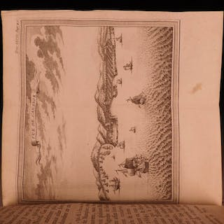 1766 Voyages PIRATES CARIBBEAN MAPS Forts Cowley