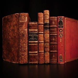 1774 Lot of 6 Books Kempis Imitation Johnson Rasselas