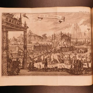 1780 VOYAGES Explorers India Shah Jahan Mughal Empire