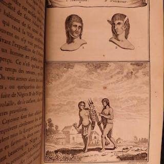 1780 VOYAGES South America Guiana Guyana BRAZIL Panama