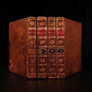 1780 Jean-Jacques Rousseau Heloise Julie BANNED Book