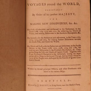1786 VERY RARE Voyages of Captain James Cook Hawaii