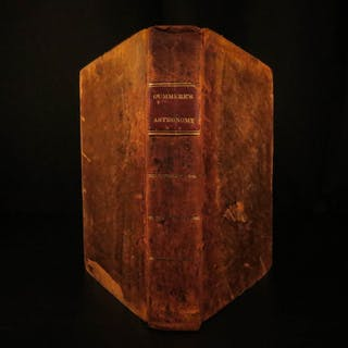 1822 1ed on American Astronomy Gummere Science