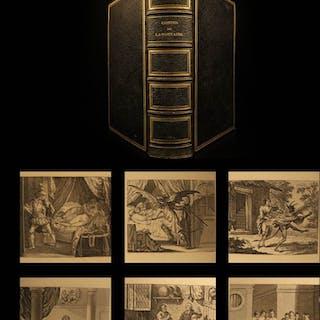 1840 BEAUTIFUL Jean de La Fontaine Contes Fables