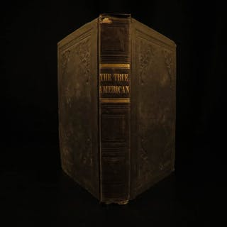 1840 1ed True American Coe LDS Mormon Washington US