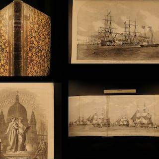 1853 Illustrated London News HUGE Crimean War Navy