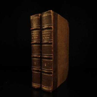 1859 Humbolt Views of Nature German Orinoco VOYAGES