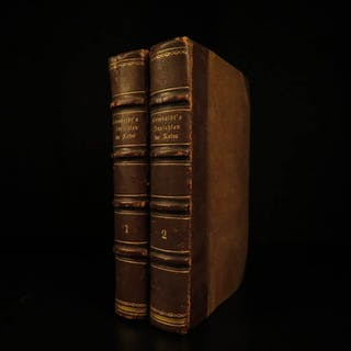 1859 Humbolt Views of Nature German Orinoco VOYAGES