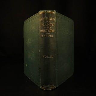 1868 1ed Charles Darwin Variation Under Domestication
