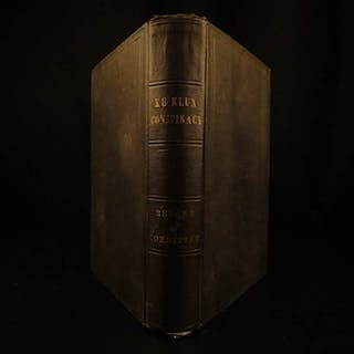1872 1st ed Ku Klux Klan Conspiracy Report US Congress