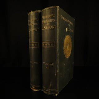 1885 1ed Civil War Memoirs General Ulysses S Grant