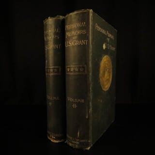 1885 1ed Civil War Memoirs General Ulysses S Grant