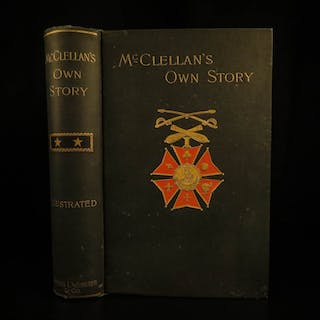 1887 Civil War 1st ed George McClellan Own Story Union