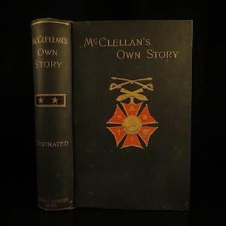 1887 Civil War 1st ed George McClellan Own Story Union