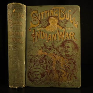 1891 Life of Sitting Bull Native American Indians