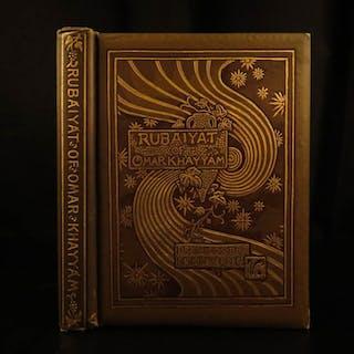 1894 Rubaiyat Omar Khayyam Vedder Philosophy Persia