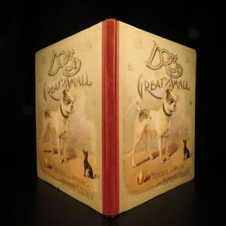1895 1st ed Dogs Great & Small Color Illustrated