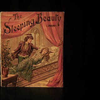 1897 1st ed Sleeping Beauty CLASSIC Fairy Tale Color