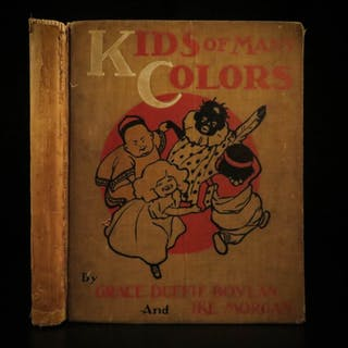 1901 Kids of Many Colors Negro RACISM Slavery Pickanny