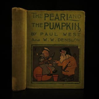 1904 1ed Pearl and Pumpkin Color Illustrated Children's