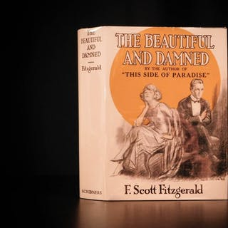 1922 1st ed The Beautiful & Damned F Scott Fitzgerald