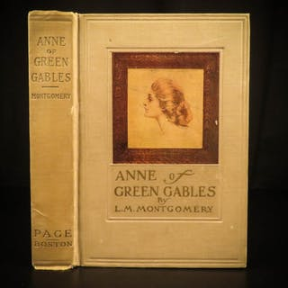 1908 Anne of Green Gables by Lucy Montgomery Literature