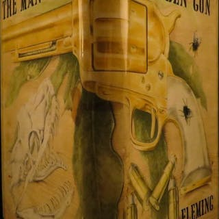 1965 1st ed JAMES BOND Man with the Golden Gun