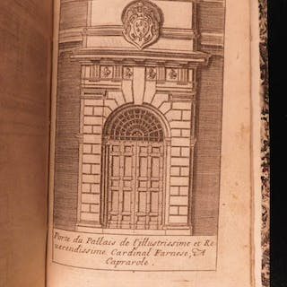 1671 Five Orders Architecture VIGNOLA Italian ART