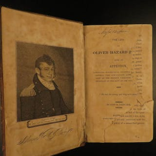 1821 Navy Commodore Perry Naval Battles War of 1812
