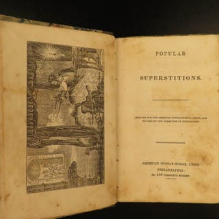 1832 Popular Superstitions MAGIC Ghosts Ventriloquism
