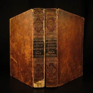 1840 1st ed History of US Navy James Fenimore Cooper
