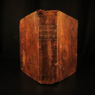 1845 Missouri LAW Statutes INDIANS & Slavery Acts