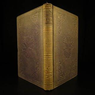 1862 1st ed Civil War Eighth Census Slavery Indians