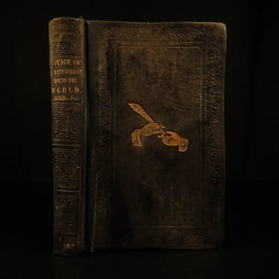 1864 Charles Darwin EVOLUTION Voyage of HMS Beagle